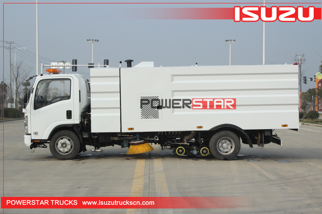 New ELF/700P Isuzu Vacuum Wet Type Road Sweeper Truck