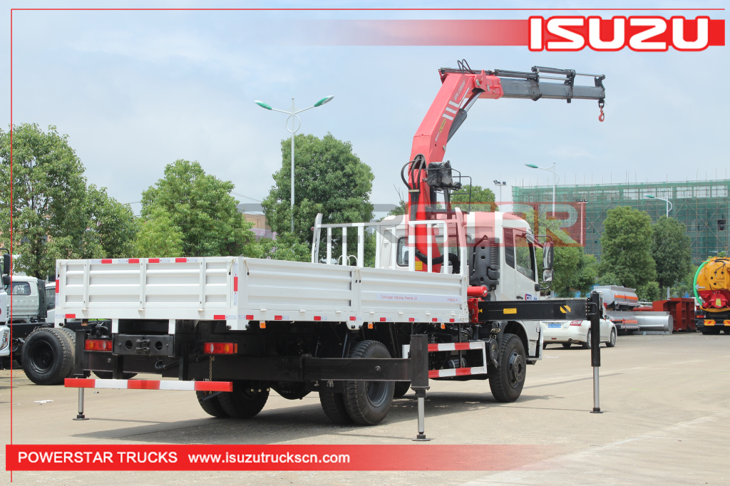Brand new DongFeng Knuckle Folding Boom Crane Trucks with Palfinger SPK23500 for sale