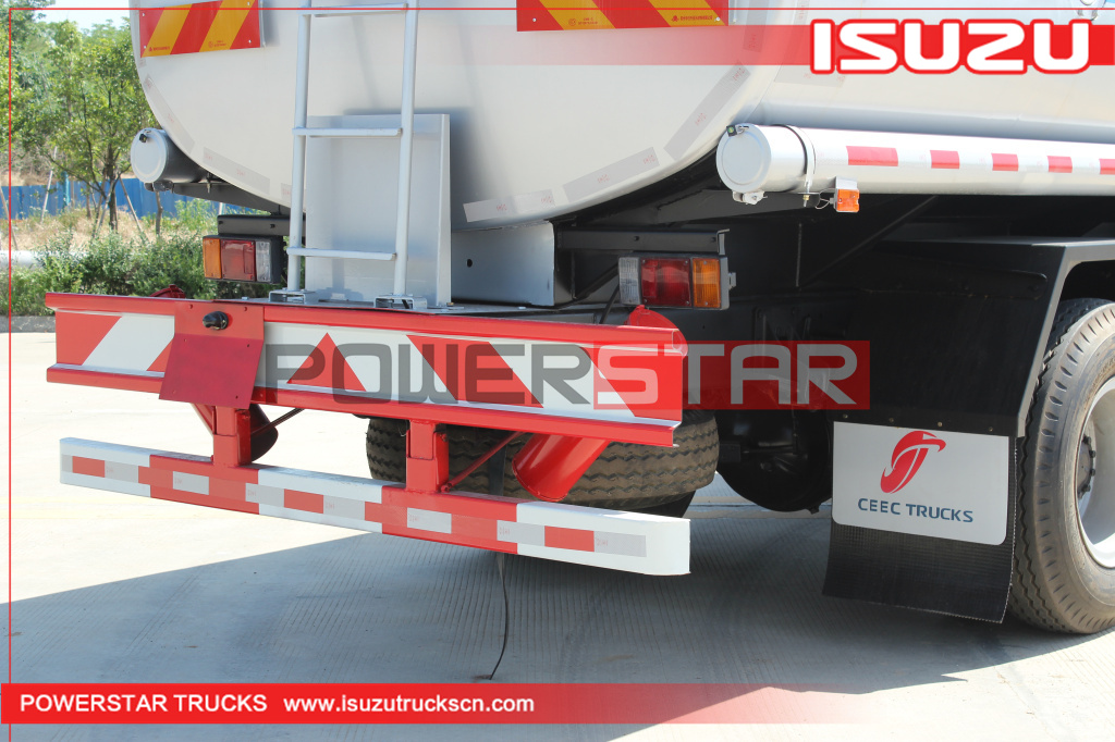 Philippines Oil bowser Fuel Tank Truck Isuzu 16,000L for sale