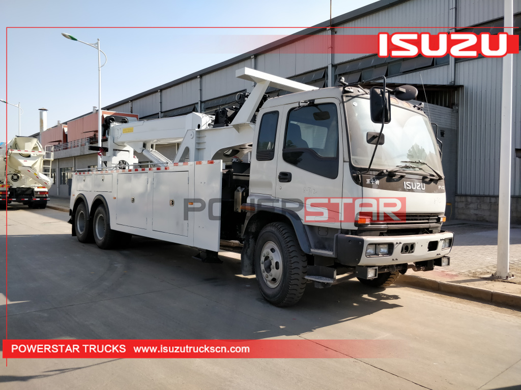 20Ton 25ton breakdown recovery truck ISUZU FVZ rescue towing vehicle