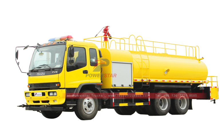 japan ISUZU FVZ Water Tanker Fire Rescue Fighter Truck