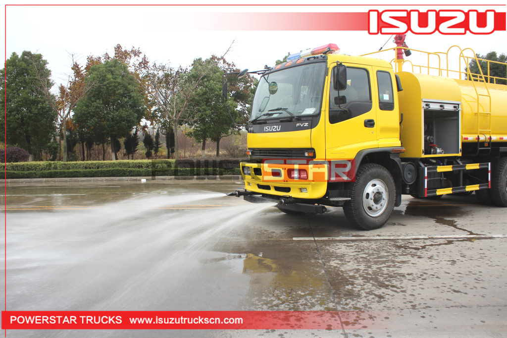 NEW Japan ISUZU FVZ Water Tanker Fire Rescue Fighter Truck (16000 Liters)
