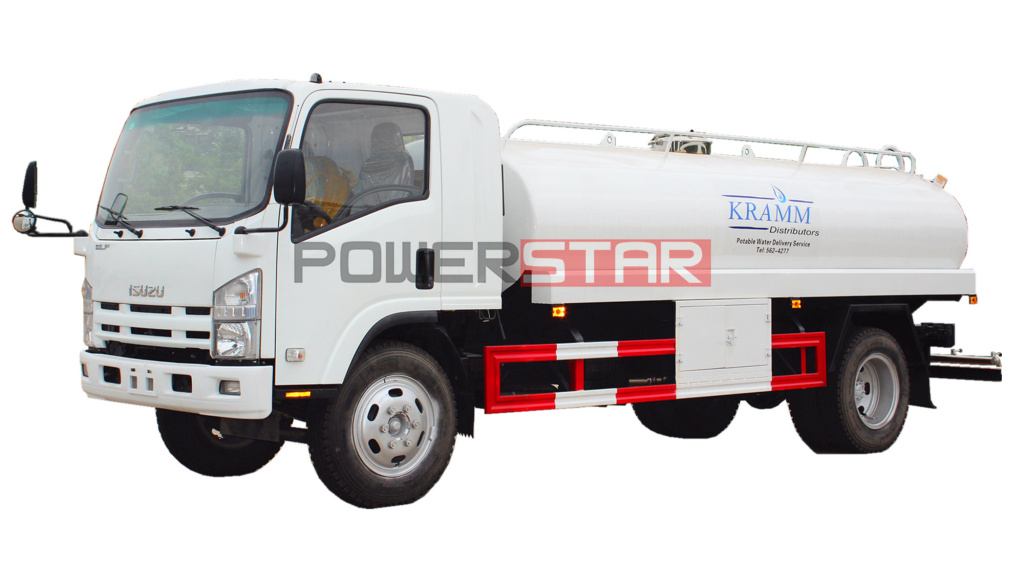 ISUZU ELF NPR Potable Water Tank Truck 9,000L