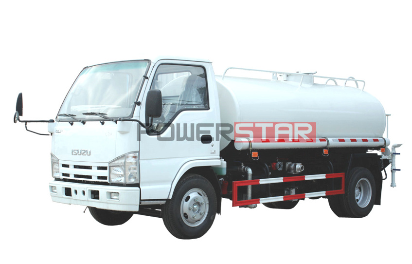 ISUZU ELF NPR Drinking water tanker trucks 3,000L for sale
