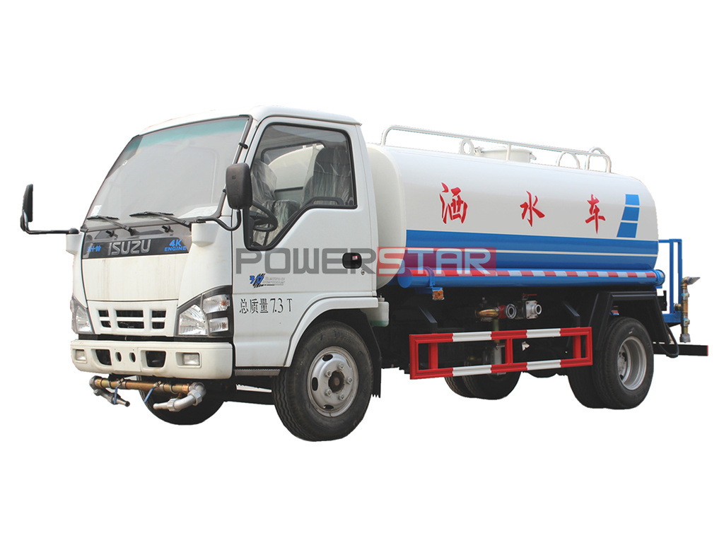 ISUZU Potable Cleaning Water Truck