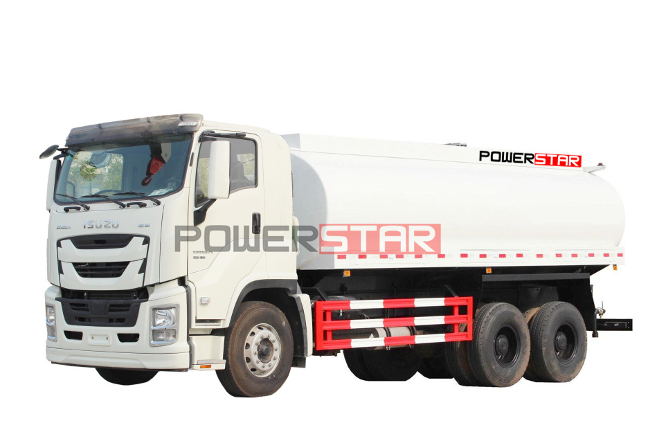 22,000L ISUZU GIGA drinking potable water delivery tanker truck