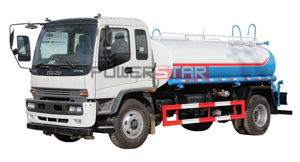 ISUZU Potable drinking water trucks