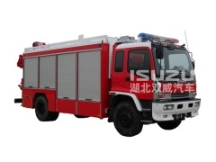 Factory Japanese Isuzu Emergency Rescue Vehicle for sale