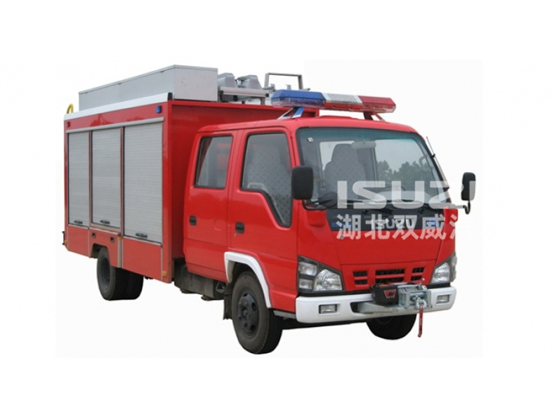 Factory Sale Mini Fast Isuzu Emergency Rescue Vehicle with good price