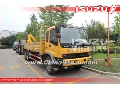 Japanese Isuzu Crane trucks with Hydraulic Hyva crane