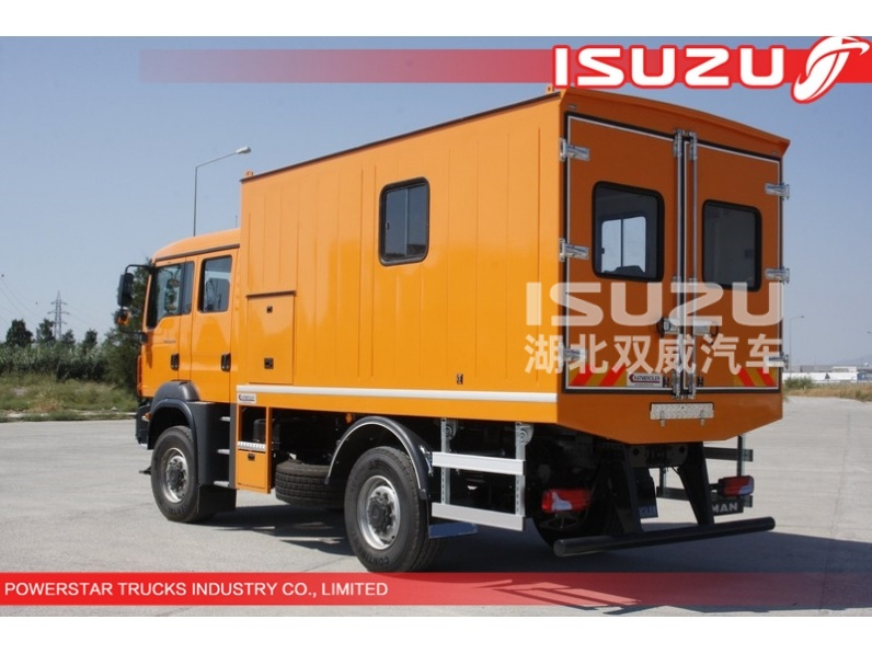 Hot Selling ISUZU Mobile Workshop Trucks For Sale In China