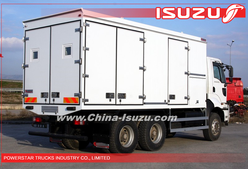 Hot selling manufacturer of isuzu mobile workshops wagon trucks 6x6 in china powerstar trucks - Ars manufacti mobel ...