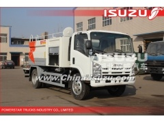 7000L ELF 700P 600P Isuzu high pressure washing truck with Vacuum Pump