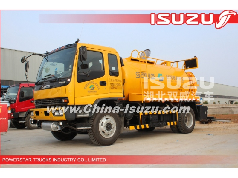 CHINA BEST 14,000L HIGH-PRESSURE CLEANER, SEWER FLUSHING TRUCK
