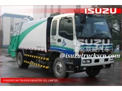 Garbage transportation Isuzu Trash Truck Garbage Compactor supplier