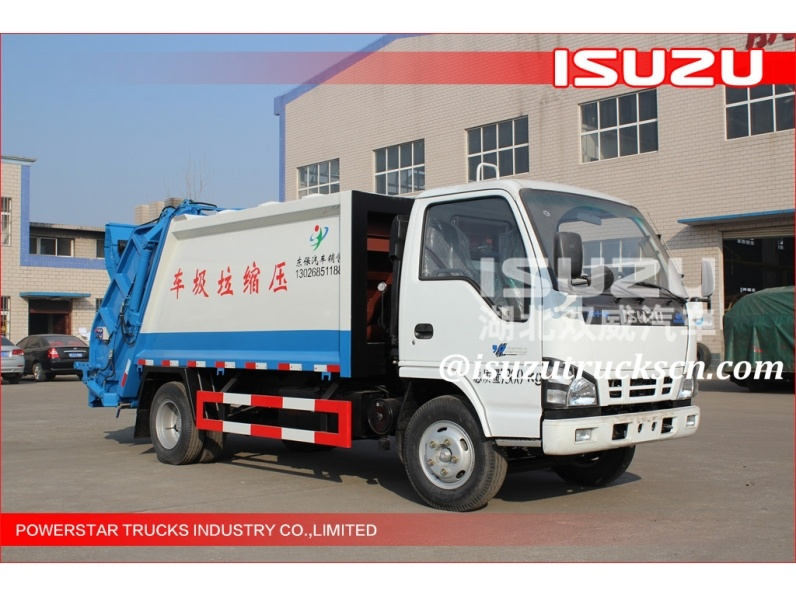 Garbage Compactor Truck Isuzu At Price Concessions,Garbage