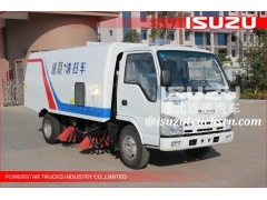 low price of ISUZU NKR 3cbm-5cbm Isuzu Road Sweeping Vehicle