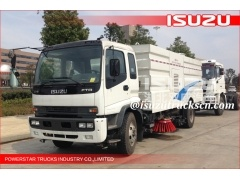 Best quality 8000L FTR Highway Road Sweeper Vehicle with Isuzu Chassis