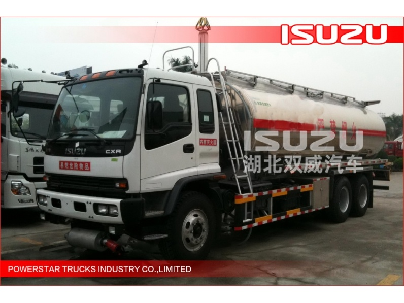 ISUZU Mobile Refueling Oil tank truck 6x4, Oil Delivery Trucks 20000L