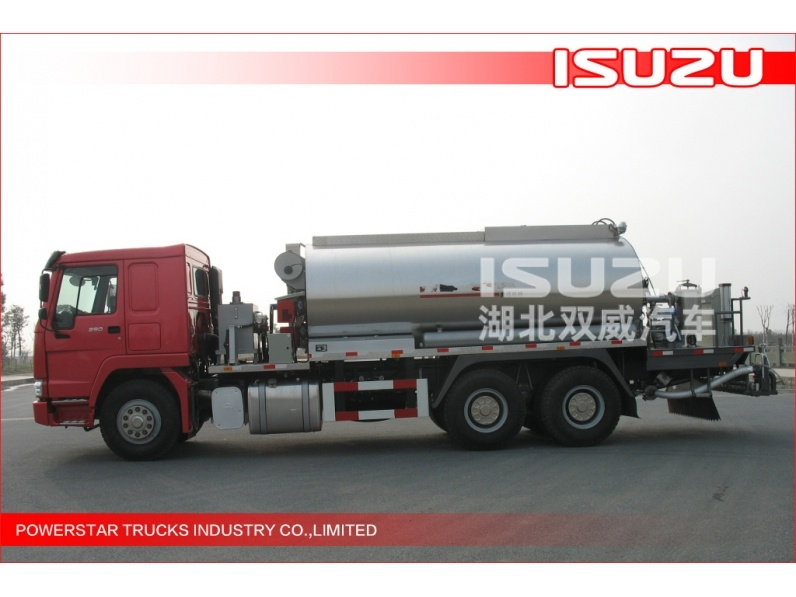 12000L 6x4 ISUZU asphalt distributor truck bitumen distribution truck for sale