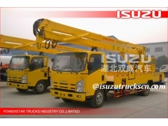 Japanese 18m Isuzu Aerial platform vehicle overhead working truck for sale