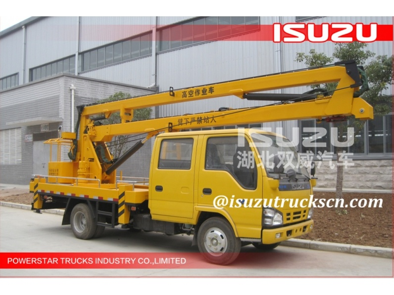 Japaense 12Meters Isuzu Aerial Working Platform Trucks for sale