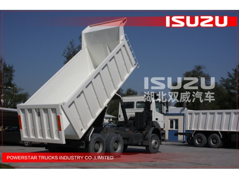 Manufacturer/supplier of  20Ton 10wheels Isuzu Chassis Heavy Tipper Trucks