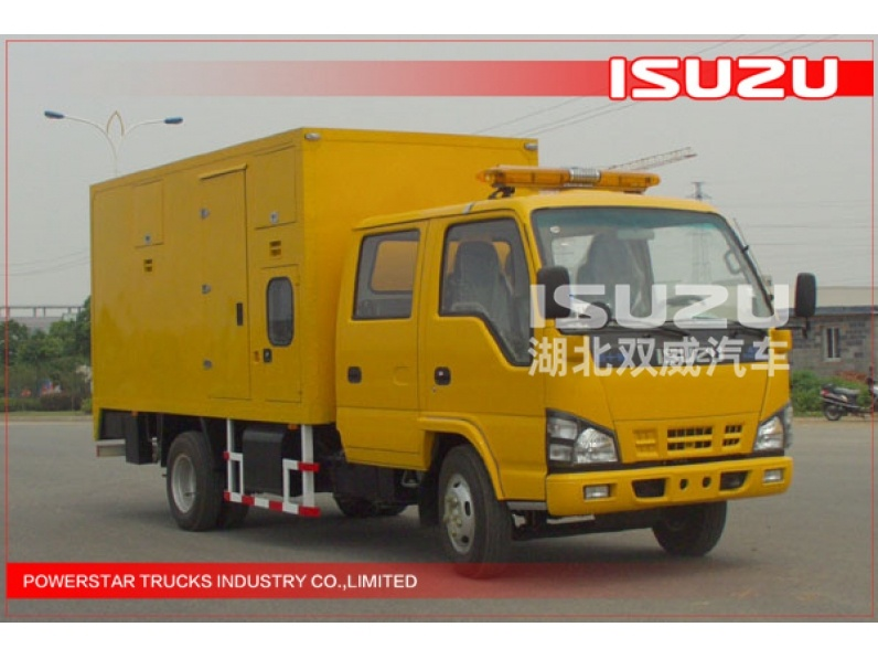 ISUZU 120~300KW Emergency Power Supply Vehicle