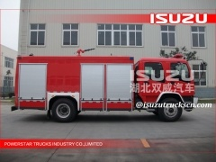 Fire Fighting Foam Truck ISUZU CHASSIS