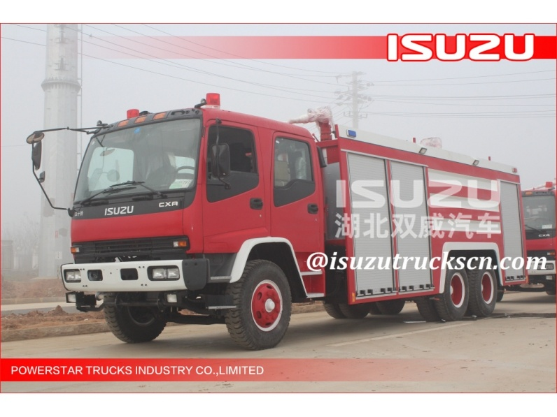 FVZ34Q CXA water tanker/foam fire truck Water range ≥65,Foam range ≥60 for sale