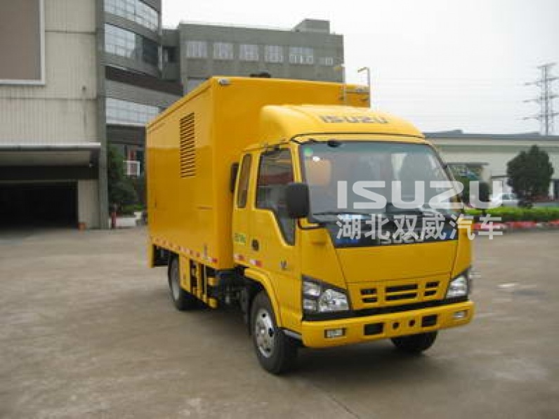 iSUZU 160kw Emergency Mobile Power Supply Vehicle with cummins