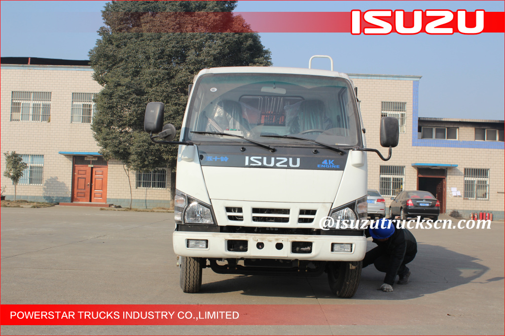 3cbm-5cbm Syria ISUZU NKR Truck Garbage Compactor Supplier At Price