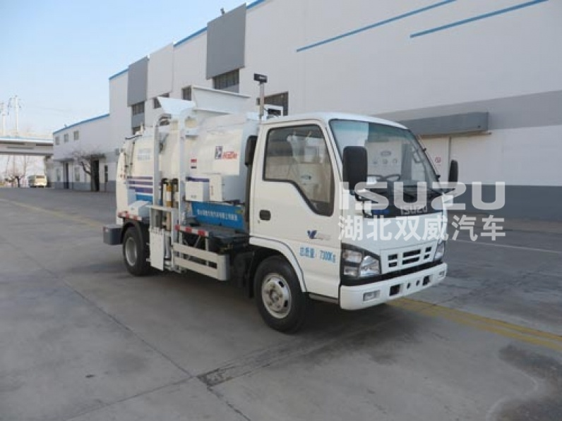 Garbage Compactor Truck,Sanitation Vehicles,Kitchen Garbage Truck