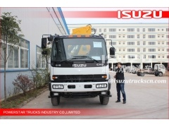 japan Durable Telescopic Boom Truck Crane With 12000 kg Mounted Crane