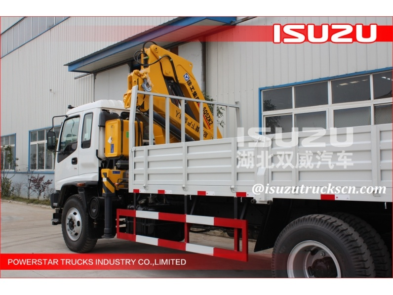 ISUZU 25 Ton Truck Mounted Crane/Knuckle Boom Crane/Folding Arm Crane