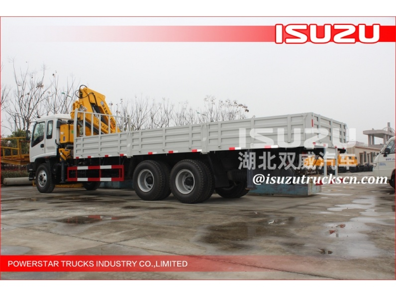 Factory Price Isuzu Truck Mounted Crane Rear Crane Truck For Sale