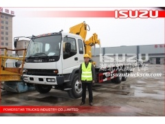 Isuzu truck mounted cranes SQ16ZK4Q for sale