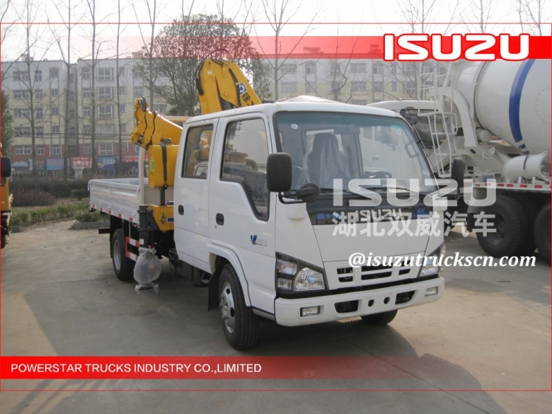 Telescopic Boom Truck Mounted Crane 2.1T