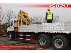 Isuzu 16Tons Truck Mounted Crane For Sales