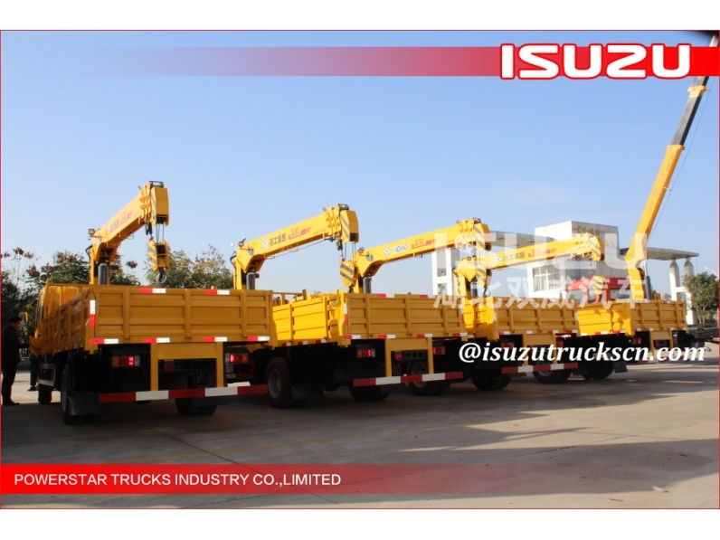 ISUZU 2T Truck Mounted Crane/Truck With Loading Crane
