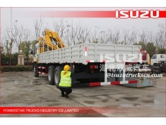 6300kg truck crane with good performance made in China