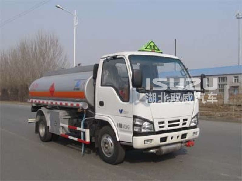 ISUZU 5000L Fuel Tank Truck, oil transport truck trailer