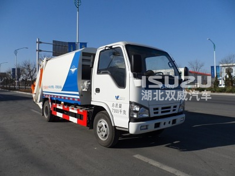 newly isuzu nkr environmental waste garbage compactor truck