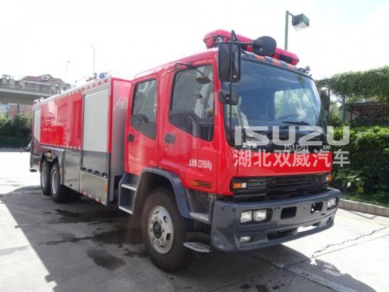 Isuzu water foam Fire Truck 8000-15000L