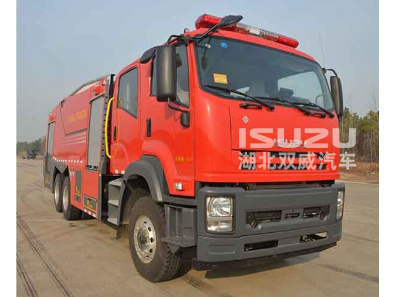VC46 ISUZU 12000 liter fire truck 6X4 airport fire truck for sale