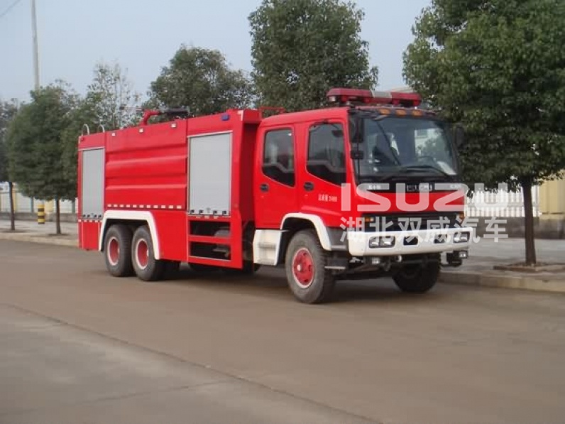Isuzu industry Water and foam Fire Fighting Truck