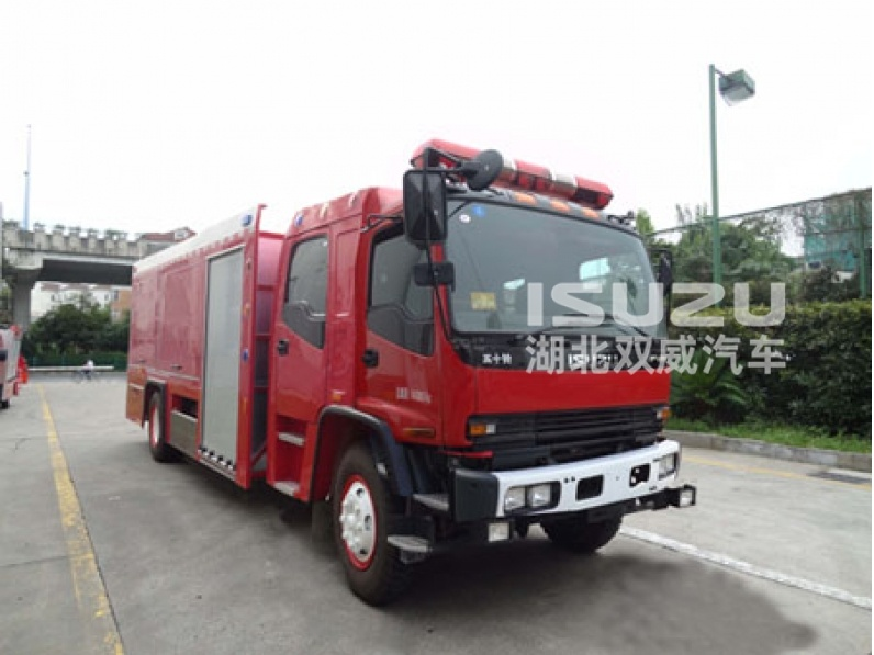 Isuzu Fire Fighting Truck with Good Performance