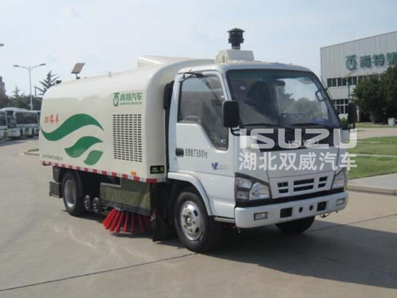 Isuzu brand industrial sweeper/street sweeper/workshop sweeper