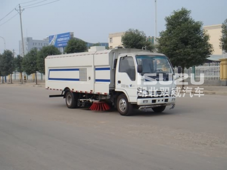 ISUZU street sweeper road sweeping machine