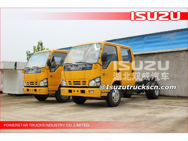 4*2 Isuzu high altitude operating truck, high working truck